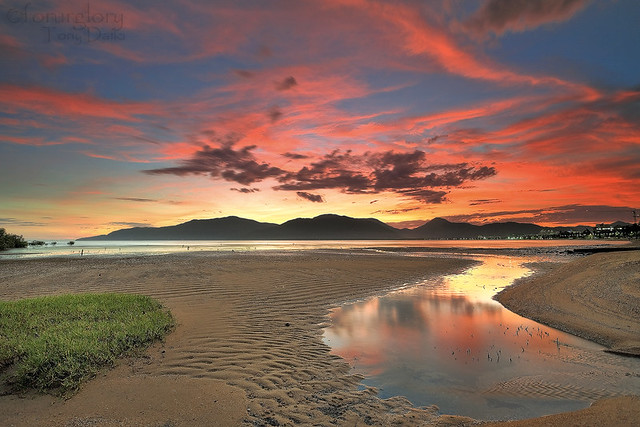 Red Clouds-Trinity Inlet,Cairns