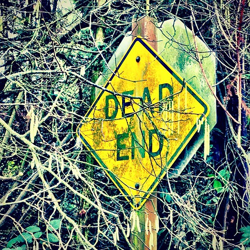 D1 is for Dead End (a hidden sign) #365 #alphabet