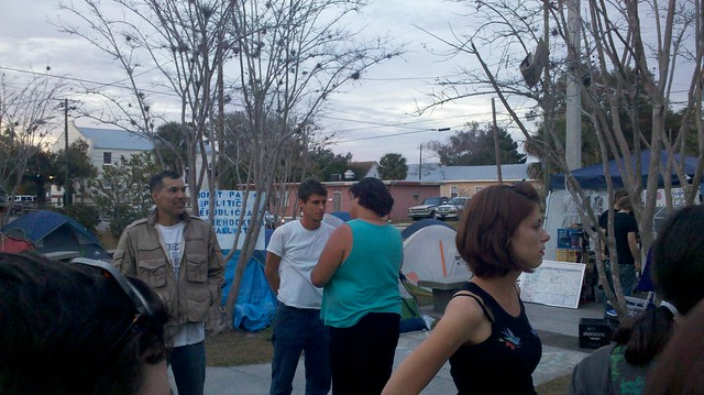 Occupy Tampa Pic 9 from Sonja E