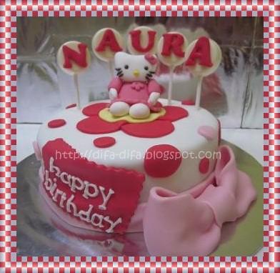Hello Kitty for Naura by DiFa Cakes