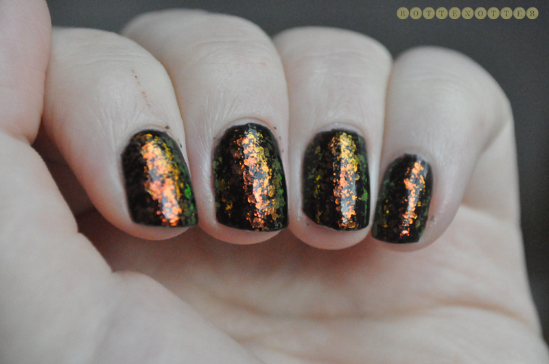 barry m black gosh rainbow notd nail polish 3