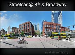 Nashville's proposed streetcar (by: Nashville MPO)
