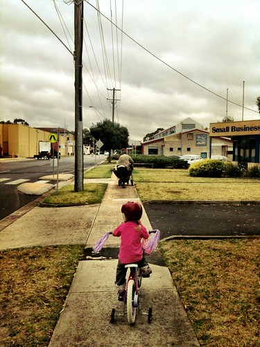 Riding to Kindergarten