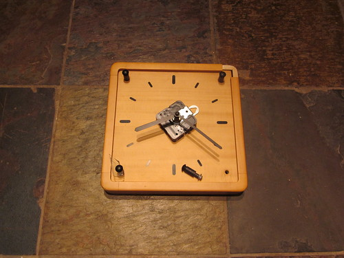 thrifty clock - before