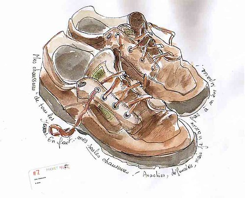 RS52, week/semaine 7: my shoes/ mes chaussures