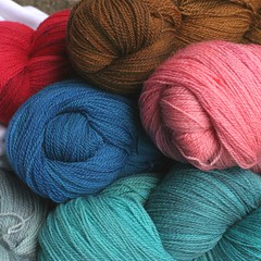 LACE yarn All Your Lace/ Sparkle Lace Sheepy Time Yarns
