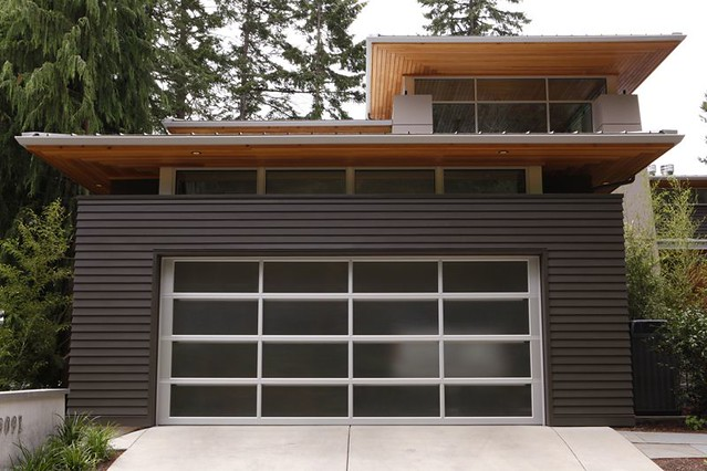 Modern Garage Door Flickr Photo Sharing