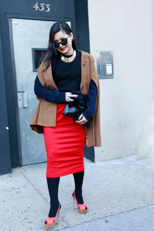 redskirt_plim nyc nyfw street fashion style