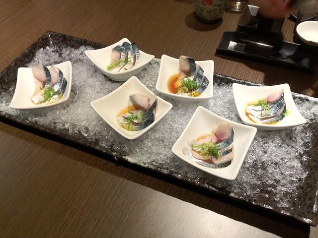 竹筴魚佐紫蘇生姜果醋