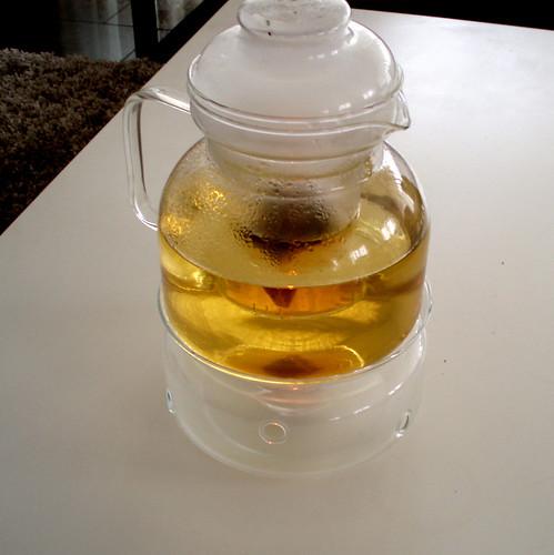 ginger and cinnamon tea