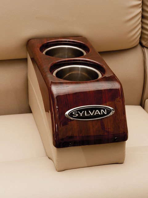 Sylvan Pontoon Movable Cup Holders Flickr Photo Sharing