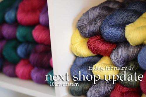 next shop update