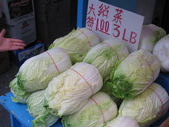 brassica(0.0), cabbage(1.0), vegetable(1.0), produce(1.0), food(1.0),
