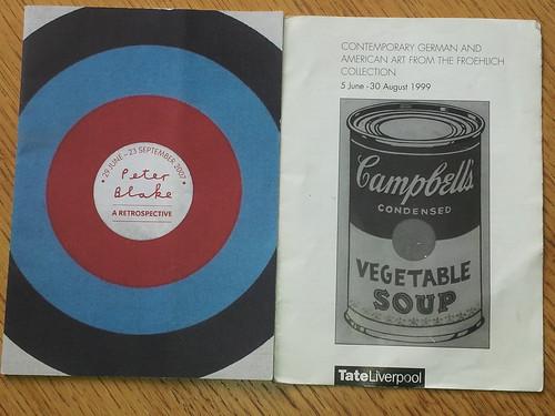 Tate programmes.