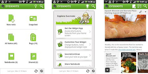 Evernote untuk Android