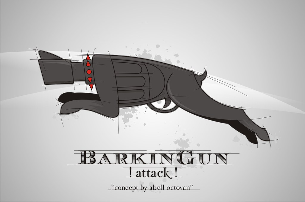 "BarkinGun ""attack mode"""