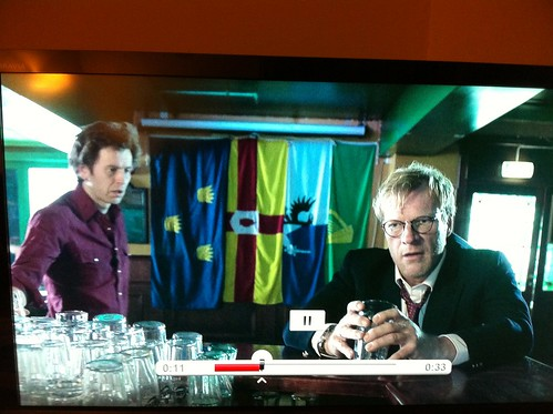 "Interesting Norwegian pub decor - ""Lilyhammer"" TV Series (Netflix). by despod"