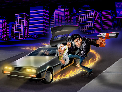 Retro City Rampage for PS3 and PS Vita: Hero Art