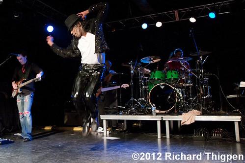 Who's Bad : The Ultimate Michael Jackson Tribute Band - 02-18-12 - Amos' Southend, Charlotte, NC