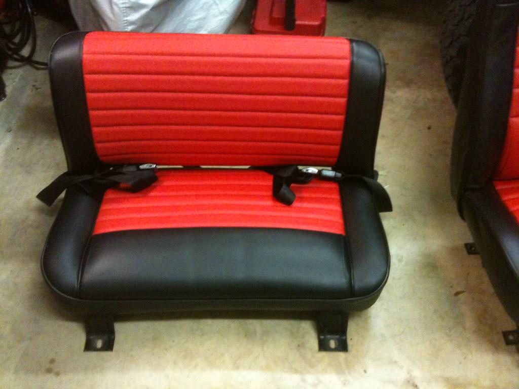Tires 33X12 5X15 >> CJ7 Laredo Seat Restoration - JeepForum.com