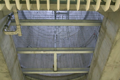 The bottom of the ventelation shaft