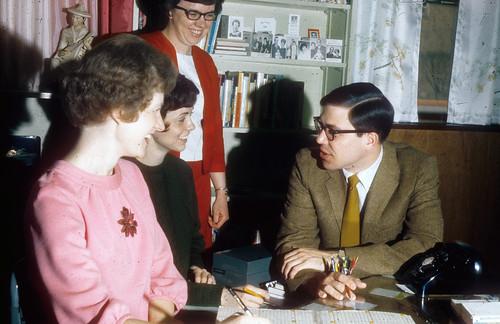 Gerig,Joy,Marilyn (Dissinger) Steiner,Linda Mosier,Jay Platte  '68-'69