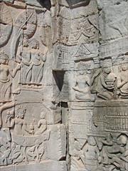 Bas-reliefs du Bayon (Angkor)