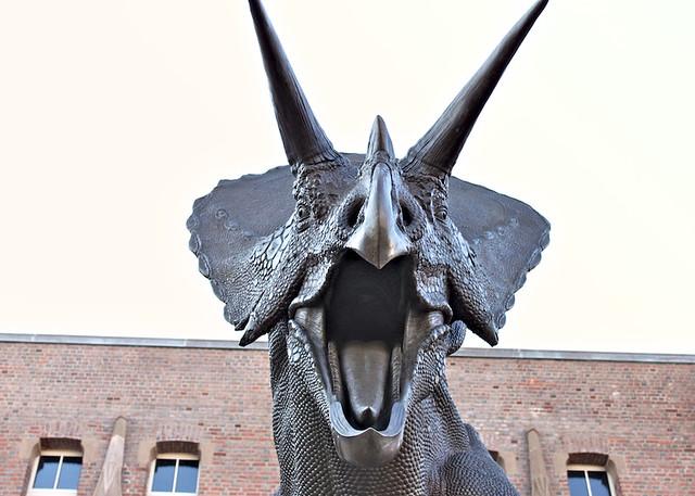 Dinosaur at Peabody
