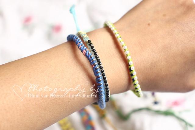 Zelfgemaakte Armbandjes