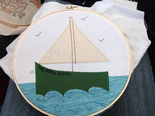 Hoop Up Swap -tropical soup, in progress