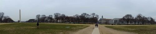 Panorama of the Washington Monument and Mall
