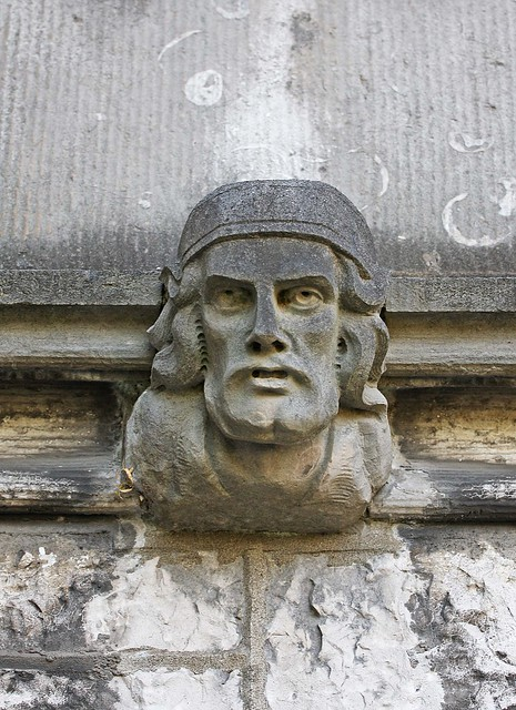 Stone face carving flickr photo sharing