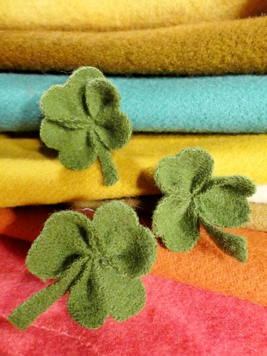 wooly shamrocks