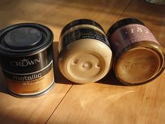 Paint tester pots