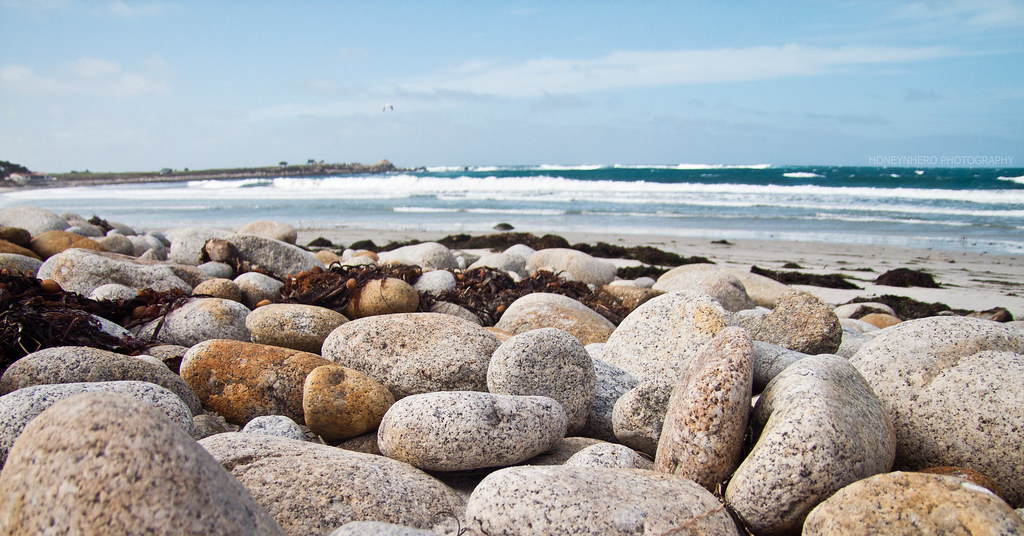 Pebbles, Spanish Bay, Pebble Beach