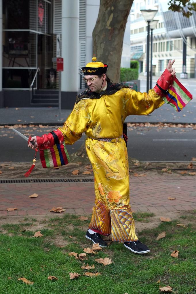 Wing Chun performer #2
