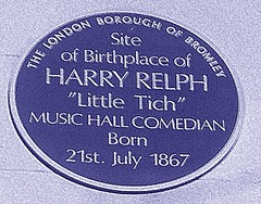 Photo of Harry Relph blue plaque
