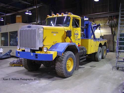 City of Syracuse Autocar DK wrecker