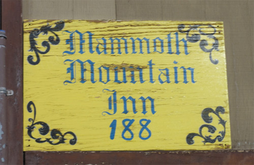 Mammoth Mountain Inn.