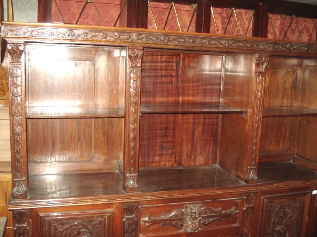Loja Artesanato Joinville ~ Aparador Antiguo Mueble Vajillero Tallado De Estilo