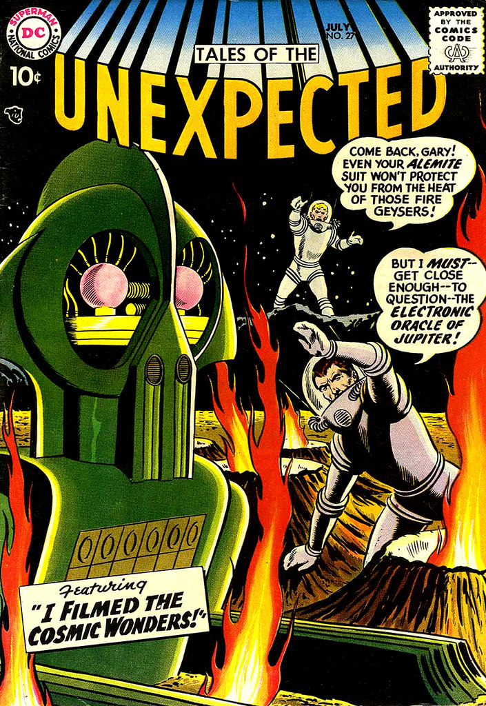 Tales of the Unexpected #27 (DC, 1958) Bob Brown cover