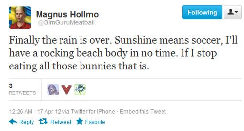 SimGuruMeatball Twitter Sims 3 Seasons tease