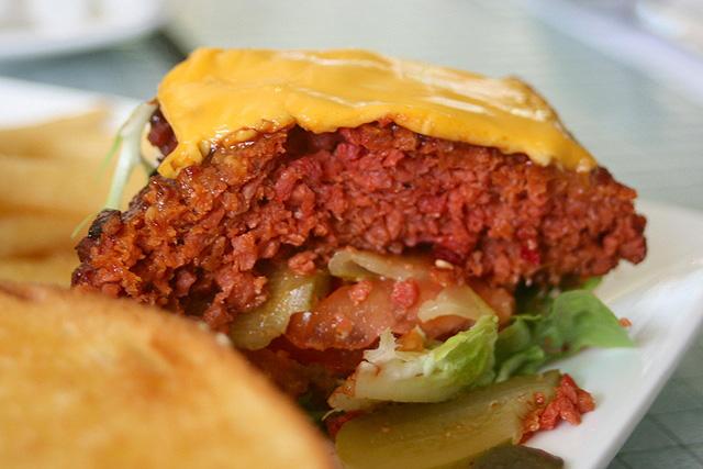 Char Grilled Beet Burger