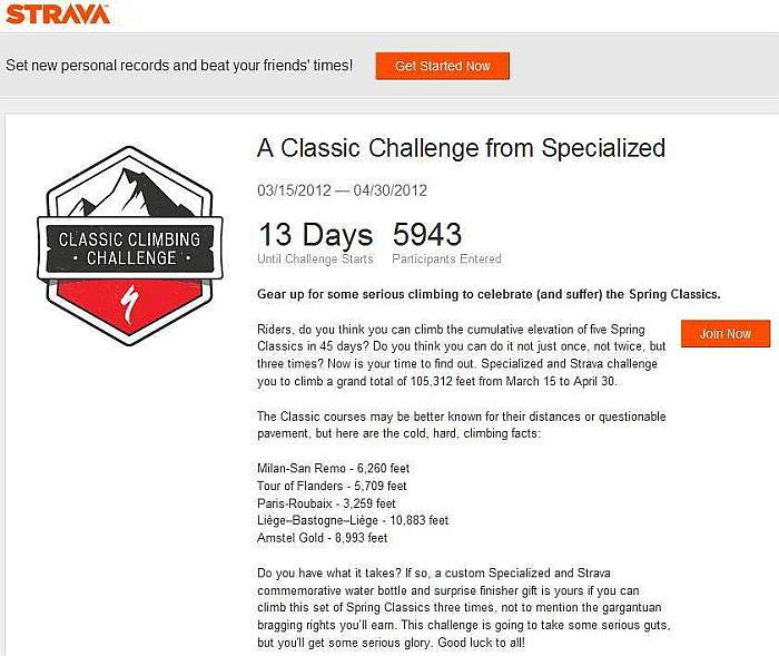 Strava Challenge - 106,000' in 45 days