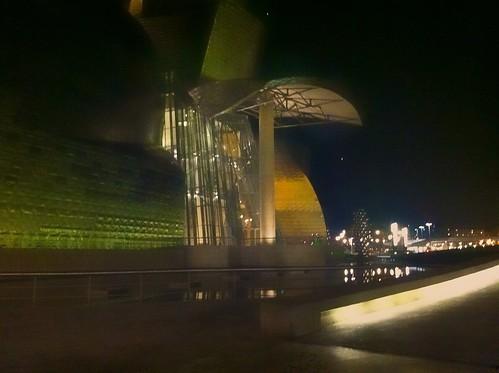 Museo Guggenheim Bilbao desde Nerua