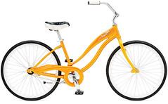 Simple-Single-W-Tangerine orange and white bike