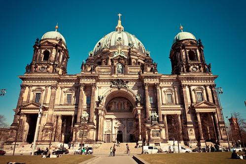 無料写真素材, 建築物・町並み, 宗教施設, 教会・聖堂, キリスト教, ベルリン大聖堂, 風景  ドイツ