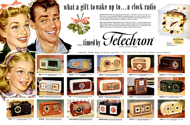 1951 .... miracle of the clock radio!