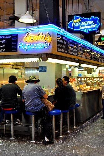 Sarita's Pupuseria - Grand Central Market - Los Angeles