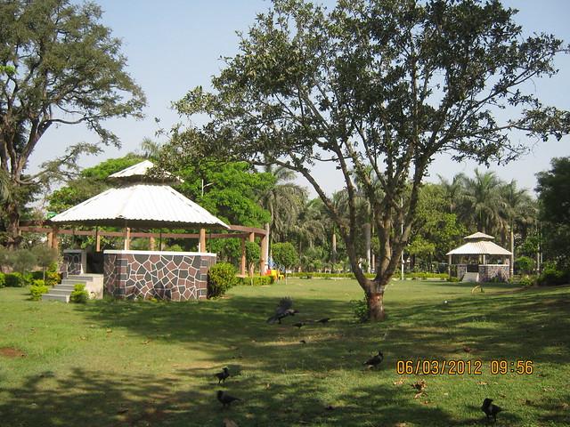 Gardens of Shri Mhatoba Devasthan Mandir Wakad Pune 411 057
